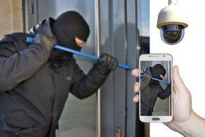 camera de surveillance effraction